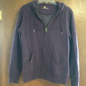 Carhartt zip up hoodie
